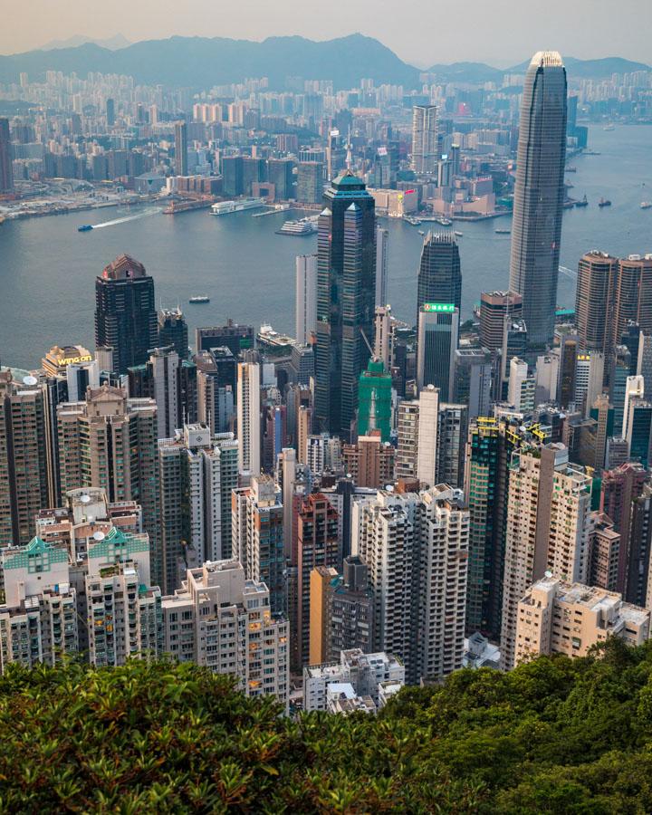 hong kong hotspots