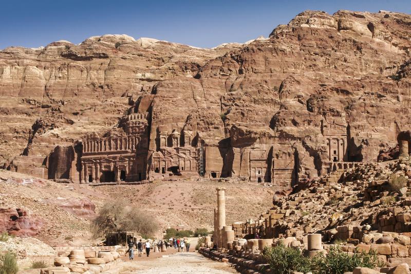 Jordanië landscappen